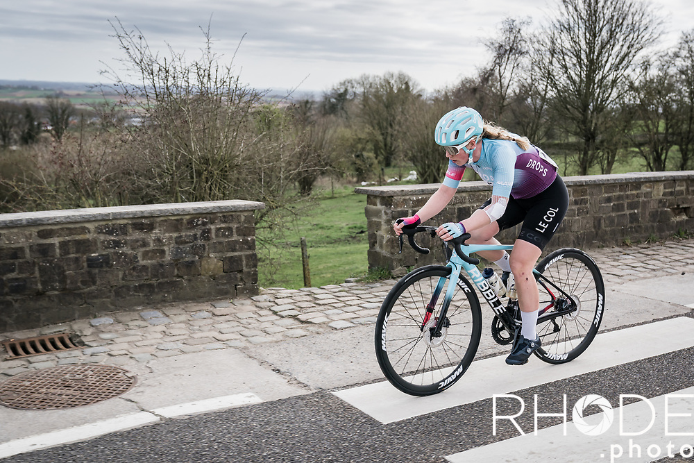 Marjolein van't Geloof (NED/Drops Le Col)<br /> <br /> 10th Gent-Wevelgem in Flanders Fields 2021<br /> Elite Womens Race (1.WWT)<br /> <br /> One Day Race from Ypres (Ieper) to Wevelgem 142km<br /> <br /> ©RhodePhoto