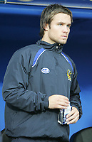 Photo: Lee Earle.<br /> Portsmouth v Wigan Athletic. The FA Cup. 06/01/2007. Wigan's new signing Kristoff Haestad started on the bench.