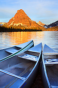 Two Medicine Lake, Glacier National Park, Montana.