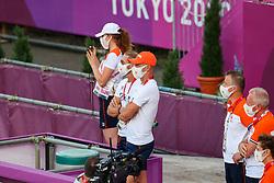 Minderhoud Hans Peter, NED, Gal Eward, NED<br /> Olympic Games Tokyo 2021<br /> © Hippo Foto - Dirk Caremans<br /> 27/07/2021