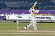 Harry Dearden batting during the Specsavers County Champ Div 2 match between Durham County Cricket Club and Leicestershire County Cricket Club at the Emirates Durham ICG Ground, Chester-le-Street, United Kingdom on 21 August 2019.