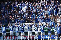 Fotball tippeligaen 23.06.05 - Molde - Brann<br /> Lag og supportere hyller hverandre etter kamp<br /> Foto: Carl-Erik Eriksson, Digitalsport