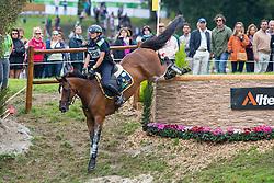Evelina Bertoli, (ITA), Leitrim Orient Express - Eventing Cross Country test- Alltech FEI World Equestrian Games™ 2014 - Normandy, France.<br /> © Hippo Foto Team - Leanjo de Koster<br /> 30/08/14