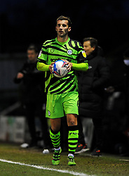 New signing Baily Cargill of Forest Green Rovers- Mandatory by-line: Nizaam Jones/JMP - 16/01/2021 - FOOTBALL - innocent New Lawn Stadium - Nailsworth, England - Forest Green Rovers v Port Vale - Sky Bet League Two