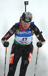 Nina Klenovska (BUL) at Women 15 km Individual at E.ON Ruhrgas IBU World Cup Biathlon in Hochfilzen (replacement Pokljuka), on December 18, 2008, in Hochfilzen, Austria. (Photo by Vid Ponikvar / Sportida)