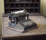Dusty typewriter from days of old