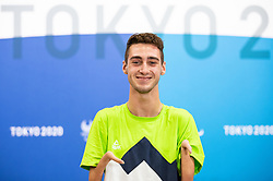 TOKYO, JAPAN --AUGUST 26: Tim Svensek Znidarsic of Team Slovenia posing during photo session at Paralympic village on day 2 of the Tokyo 2020 Paralympic Games on August 26, 2021 in Tokyo, Japan. Photo by Vid Ponikvar / Sportida