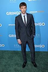 Gringo World Premiere - Los Angeles. 06 Mar 2018 Pictured: Harry Treadaway. Photo credit: Jaxon / MEGA TheMegaAgency.com +1 888 505 6342