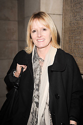 JANE SHEPHERDSON chief executive of Whistles at the London College of Fashion Show held at the Victoria & Albert Museum, Cromwell Road, London on 28th January 2010.