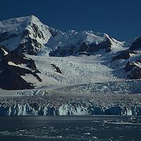Nordensköld Glacier, Cumberland East Bay<br /><br />South Georgia<br />United Kingdom Overseas Territory<br />A Subantarctic Island in the Southern Ocean
