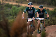 Martin and Jeannie Dreyer during the Prologue of the 2019 Absa Cape Epic Mountain Bike stage race held at the University of Cape Town in Cape Town, South Africa on the 17th March 2019.<br /> <br /> Photo by Greg Beadle/Cape Epic<br /> <br /> PLEASE ENSURE THE APPROPRIATE CREDIT IS GIVEN TO THE PHOTOGRAPHER AND ABSA CAPE EPIC