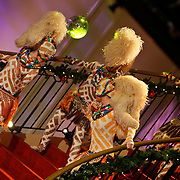 NLD/Hilversum/20101216 - Uitreiking Sterren.nl Awards, Afrikaanse danseressen