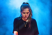 LAUREL HALO performs at the Electronica en Abril festival 2014