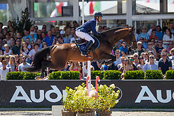 Mathy Philippaerts Olivier, BEL, H&M Extra<br /> Grand Prix Rolex powered by Audi <br /> CSI5* Knokke 2019<br /> © Dirk Caremans<br /> Philippaerts Olivier, BEL, H&M Extra