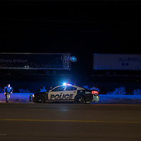 A pedestrian was struck by a train in East Gallup, Thursday Oct. 4 2018.