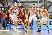 DESCRIZIONE : Campionato 2014/15 Umana Reyer Venezia - Grissin Bon Reggio Emilia<br /> GIOCATORE : Michele Ruzzier<br /> CATEGORIA : Palleggio Controcampo<br /> SQUADRA : Umana Reyer Venezia<br /> EVENTO : LegaBasket Serie A Beko 2014/2015<br /> GARA : Umana Reyer Venezia - Grissin Bon Reggio Emilia<br /> DATA : 14/12/2014<br /> SPORT : Pallacanestro <br /> AUTORE : Agenzia Ciamillo-Castoria / Luigi Canu<br /> Galleria : LegaBasket Serie A Beko 2014/2015<br /> Fotonotizia : Campionato 2014/15 Umana Reyer Venezia - Grissin Bon Reggio Emilia<br /> Predefinita :