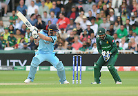 Cricket - 2019 ICC Cricket World Cup - Group Stage: England vs. Pakistan<br /> <br /> Ben Stokes of England is caught behind by wicket keeper, Sarfaraz Ahmed, at Trent Bridge, Nottingham.<br /> <br /> COLORSPORT/ANDREW COWIE