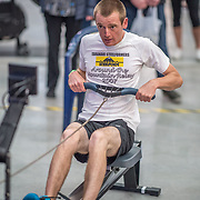 Jeffrey Gall  MALE LIGHTWEIGHT Para 20+ 1K Race #12  12:00pm<br /> <br /> <br /> <br /> www.rowingcelebration.com Competing on Concept 2 ergometers at the 2018 NZ Indoor Rowing Championships. Avanti Drome, Cambridge,  Saturday 24 November 2018 © Copyright photo Steve McArthur / @RowingCelebration