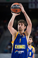 Khimki Moscow Alexey Shved during Turkish Airlines Euroleague match between Real Madrid and Khimki Moscow at Wizink Center in Madrid, Spain. November 02, 2017. (ALTERPHOTOS/Borja B.Hojas)