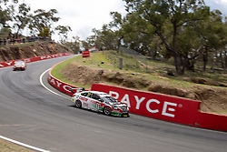 October 7, 2018 - Bathurst, NSW, U.S. - BATHURST, NSW - OCTOBER 07: Rick Kelly / Garry Jacobson in the Castrol Racing Nissan Ultima down through Forest Elbow at the Supercheap Auto Bathurst 1000 V8 Supercar Race at Mount Panorama Circuit in Bathurst, Australia. (Photo by Speed Media/Icon Sportswire) (Credit Image: © Speed Media/Icon SMI via ZUMA Press)