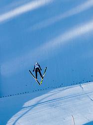 31.12.2017, Olympiaschanze, Garmisch Partenkirchen, GER, FIS Weltcup Ski Sprung, Vierschanzentournee, Garmisch Partenkirchen, Qualifikation, im Bild Kamil Stoch (POL) // Kamil Stoch of Poland during his Qualification Jump for the Four Hills Tournament of FIS Ski Jumping World Cup at the Olympiaschanze in Garmisch Partenkirchen, Germany on 2017/12/31. EXPA Pictures © 2017, PhotoCredit: EXPA/ JFK