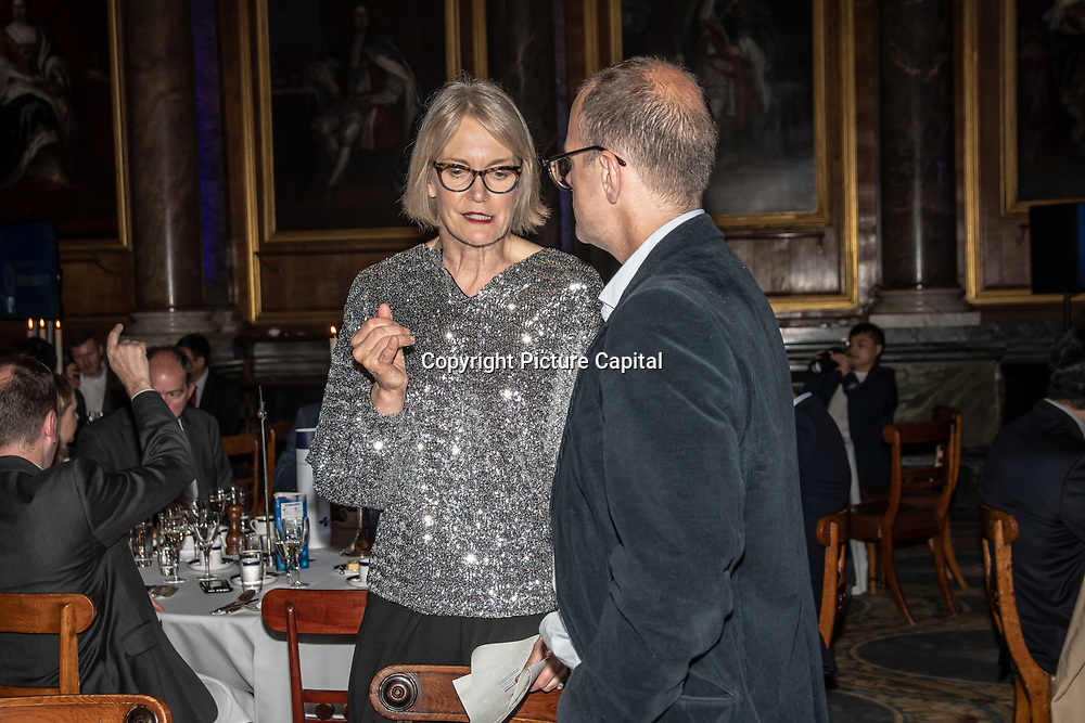 Speaker Margot James MP is a Minster of Digital and the Creative Industries at 5G Awards ceremony at Drapers' Hall, on 12 June 2019, London, UK.