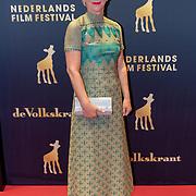 NLD/Utrecht/20181001 - NFF 2018, Première Rafaël, schrijfster Christine Otten