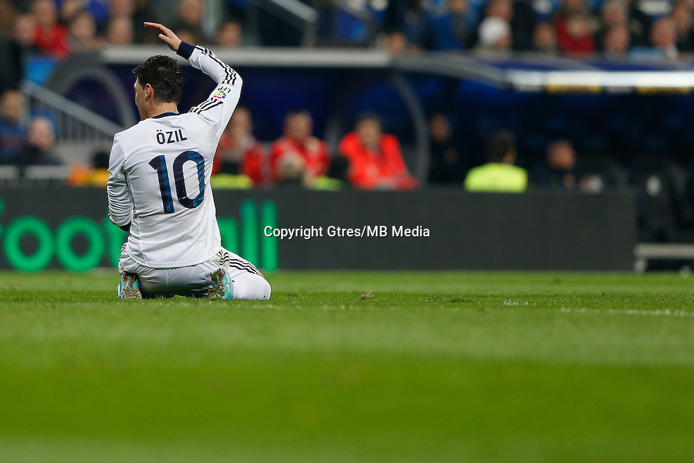 30.01.2013 SPAIN -  Copa del Rey 12/13 Matchday 1/4  match played between Real Madrid CF vs  F.C. Barcelona (1-1) at Santiago Bernabeu stadium. The picture show Mesut Ozil (German midfielder of Real Madrid)