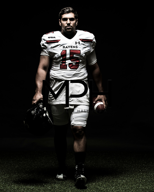 Portraits of Carleton University student-athletes for the OUA on  August 23, {year}. (Michael P. Hall/@mphcentral)