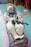 Astronaut display at Star City Museum, Moscow, Russia
