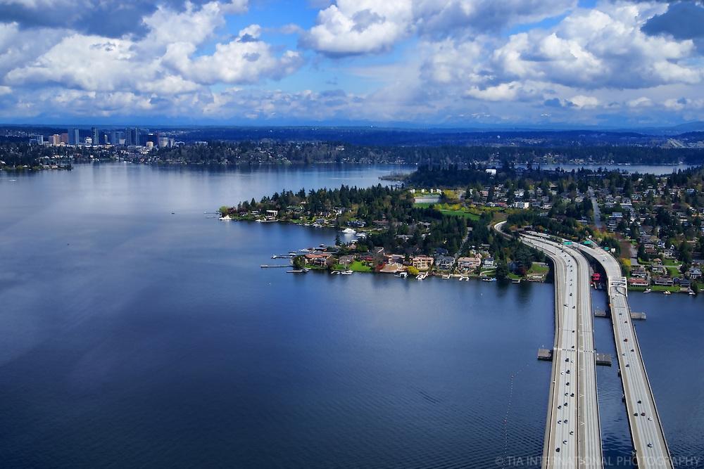 Lake Washington, Mercer Island, and Bellevue