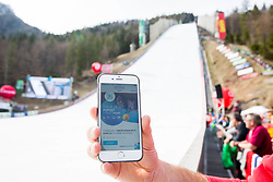 Wi fi of Telekom Slovenije during the Ski Flying Hill Individual Competition on Day Two of FIS Ski Jumping World Cup Final 2017, on March 24, 2017 in Planica, Slovenia. Photo by Vid Ponikvar / Sportida