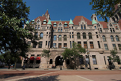 Minnesota, Twin Cities, Minneapolis-Saint Paul: The Landmark Building in downtown St Paul, by Rice Park.  This former Federal Building now hosts arts organizations..Photo mnqual290-75029..Photo copyright Lee Foster, www.fostertravel.com, 510-549-2202, lee@fostertravel.com.