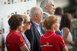 Buchmann Jacky, (BEL), Rydant Hymne, (BEL), Laeremans Wendy, (BEL)<br /> Team completion and 2nd individual qualifier<br /> FEI European Championships - Aachen 2015<br /> © Hippo Foto - Dirk Caremans<br /> 20/08/15