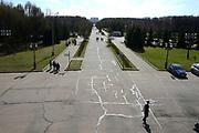 Moskou is de hoofdstad en met afstand de grootste stad van Rusland, voorheen van de Sovjet-Unie./// Moscow is the capital and by far the largest city of Russia, formerly the Soviet Union.<br /> <br /> Op de foto / On the photo:  Museum Van De Grote Patriottische Oorlog in Victory Park /  Museum of the Great Patriotic War in Victory Park
