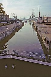 Locks Along River