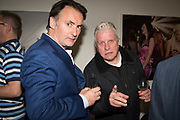 CHRIS SHAW; BRIAN GRIFFIN, Opening of the Martin Parr Foundation party,  Martin Parr Foundation, 316 Paintworks, Bristol, BS4 3 EH  20 October 2017