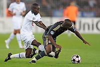 Zuerichs Onyekachi Okonkwo gegen Madrids Lassana Diarra© David Kuendig/EQ Images