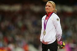 Olympics - London 2012 Olympic Games - Athletics - Women's Heptathlon - 4/8/12.Germany's Lilli Schwarzkopf  (GER).© pixathlon