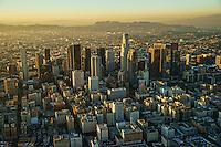 Downtown LA & Mount Lee @ Sunset