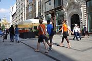Eastern Europe, Hungary, Budapest, Pedestrian street