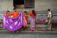 Indonesie. Bali. Ubud. Ecole de danse traditionnelle (Legong). // Indonesia. Bali. Ubud. School of traditional dance (Legong).