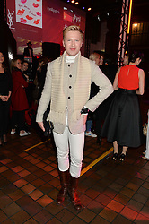 HENRY CONWAY at the YSL Beauty: YSL Loves Your Lips party held at The Boiler House,The Old Truman Brewery, Brick Lane,London on 20th January 2015.