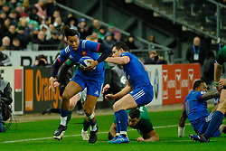 February 3, 2018 - Saint Denis, Seine Saint Denis, France - The Wing of French Team TEDDY THOMAS scored the only try during the NatWest Six Nations Rugby tournament between France and Ireland at the Stade de France - St Denis - France..Ireland Won 15-13 (Credit Image: © Pierre Stevenin via ZUMA Wire)