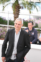 Laurent Cantet, at the 7 Dias En La Habana photocall at the 65th Cannes Film Festival France. Wednesday 23rd May 2012 in Cannes Film Festival, France.