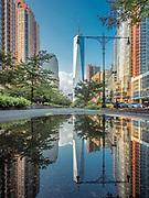 One World Trade Center is in Manhattan, New York City.