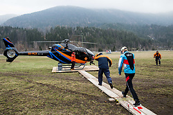 Michael Hayboeck (AUT) at Heliport prior to the Ski Flying Hill Men's Team Competition at Day 3 of FIS Ski Jumping World Cup Final 2017, on March 25, 2017 in Kranjska Gora, Slovenia. Photo by Vid Ponikvar / Sportida