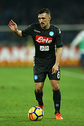 December 1, 2017 - Naples, Italy - Mario Rui of Napoli during the Serie A match between SSC Napoli and Juventus at Stadio San Paolo on December 1, 2017 in Naples, Italy. (Credit Image: © Matteo Ciambelli/NurPhoto via ZUMA Press)