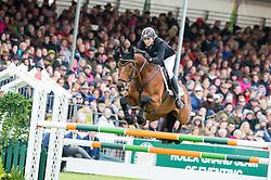 Klimke Ingrid, (GER), Horseware Hale Bob<br /> Cross Country<br /> Mitsubishi Motors Badminton Horse Trials - Badminton 2015<br /> © Hippo Foto - Libby Law<br /> 10/05/15