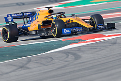 February 28, 2019 - Montmelo, BARCELONA, Spain - Lando Norris (McLaren F1 Team) MCL34 car, seen in action during the winter testing days at the Circuit de Catalunya in Montmelo (Catalonia), Thursday, February 28, 2019. (Credit Image: © AFP7 via ZUMA Wire)
